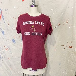 Arizona State Tee - Womens Fit - Burgundy